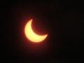 金環日食 (平成24年5月21日,兵庫県尼崎市にて撮影)