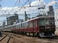 阪急7000系7009F特急梅田行@園田駅