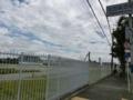 広大な敷地が広がる東芝大阪工場跡地