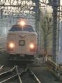 13年3月に引退する183系(特急こうのとり号,尼崎駅にて)