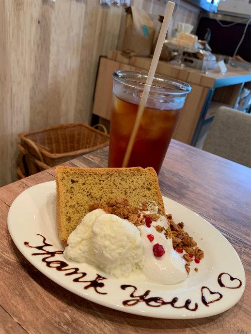 Fete le marche 紅茶のシフォンケーキ