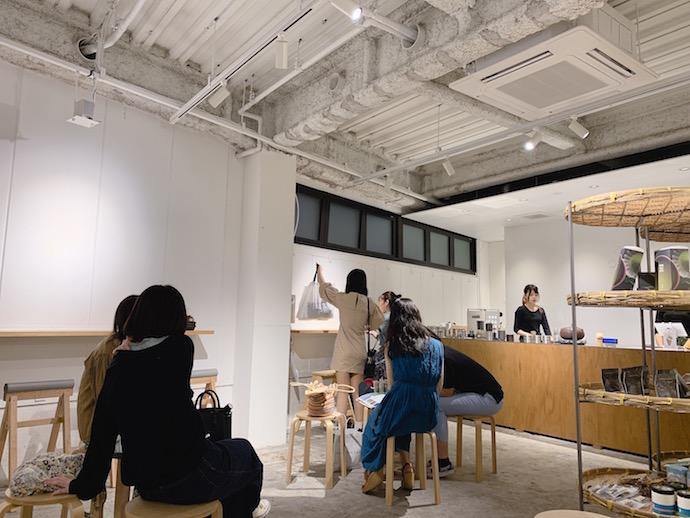 店内 THE MACYA TOKYO(ザ マッチャ トウキョウ)