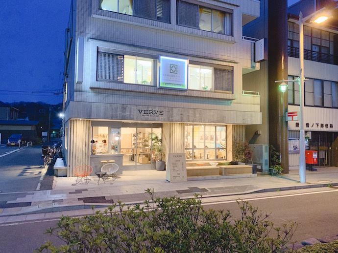 VERVE COFFEE(ヴァーヴコーヒー)鎌倉雪ノ下店の外観