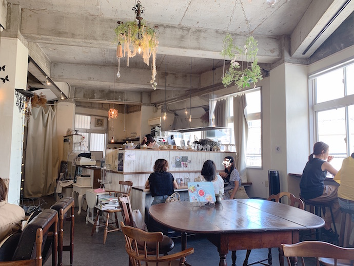 sweets cafe O'CREPE(オークレープ)の店内の写真