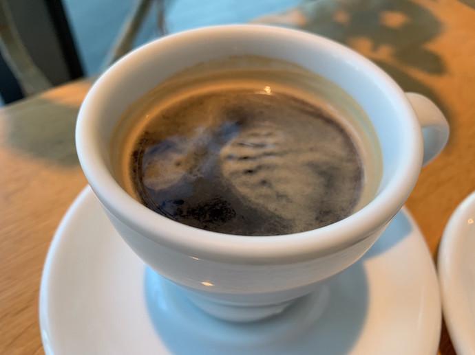 100本のスプーン二子玉川 ホットコーヒ