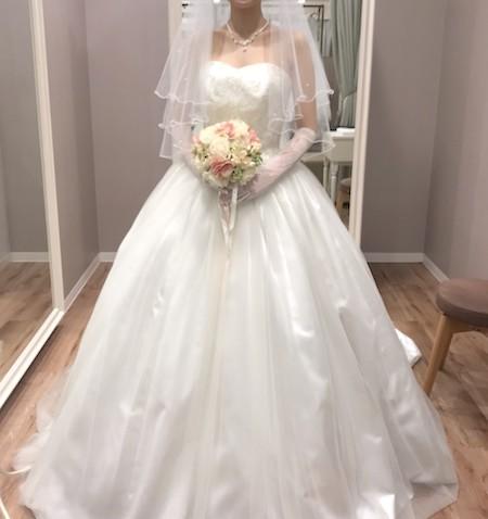 Aラインのドレスと相性◎!