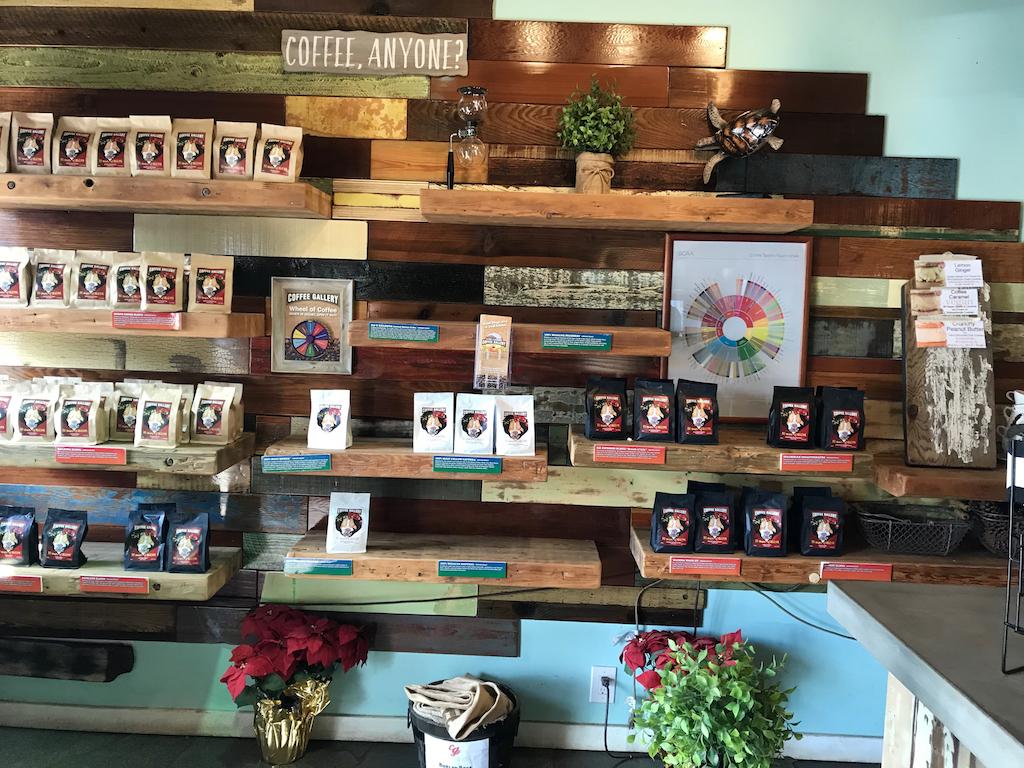 ハレイワのコーヒーギャラリー
