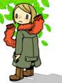 常緑樹ボロボロ