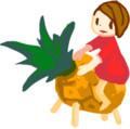 パイナップル精霊馬