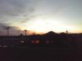 9月10日の夕焼け