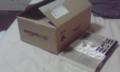 小さいアマゾンの箱(横が文庫)