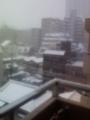 2013年1月14日の降雪