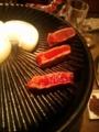20131114の馬肉焼き1