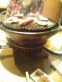 20131114の馬肉焼き2