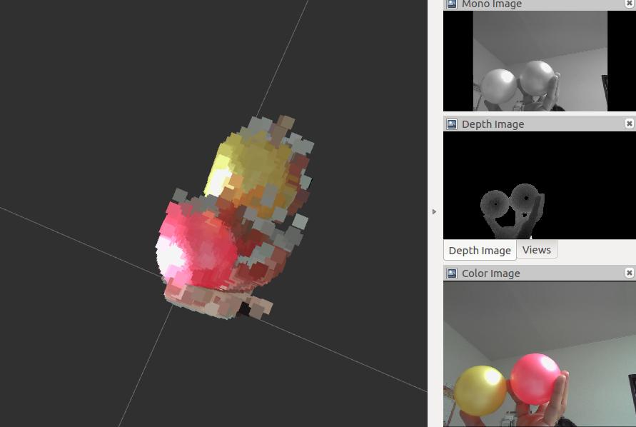 ROS x Depthセンサで遊んでみる - 空飛ぶロボットのつくりかた
