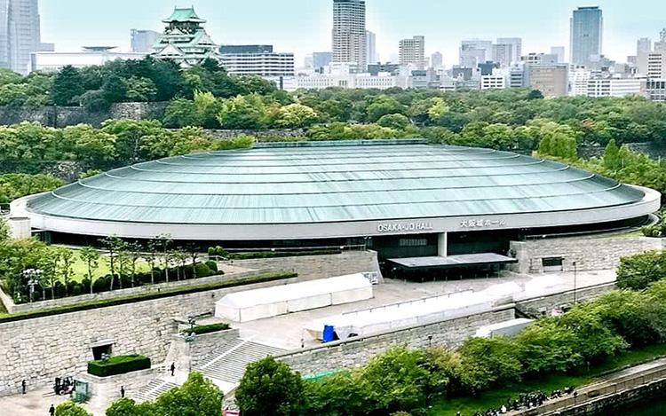 大阪城ホール外観