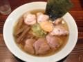 [客野製麺所]らーめん+チャーシュー 131116
