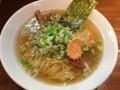 [客野製麺所]らーめん+香油ねぎ盛 140112