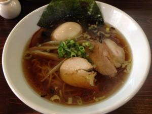 鶏っぷ 鶏中華ソバ+味玉 140125