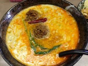 担々麺+肉味噌 140209