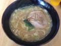 [達]豚骨醤油ラーメン 140302