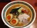 [一鶴]えびさん豚骨ラーメン+煮玉子 140323