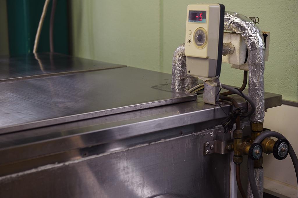 古いアイスキャンディー製造装置