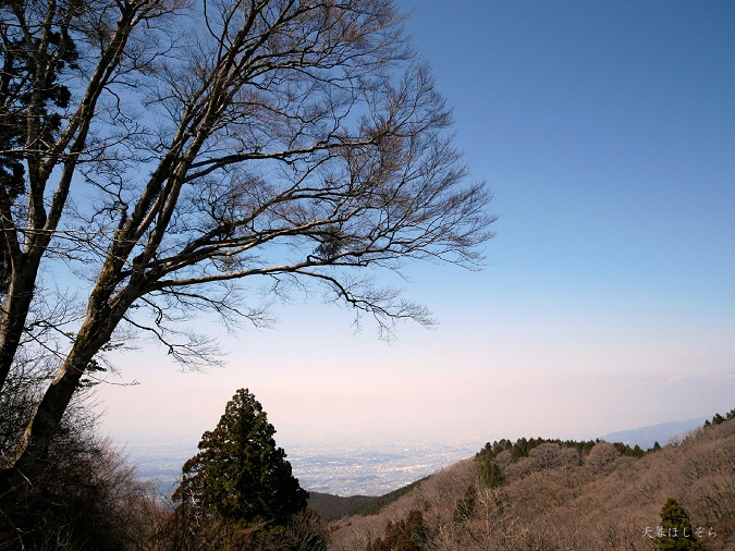 金剛山の頂上