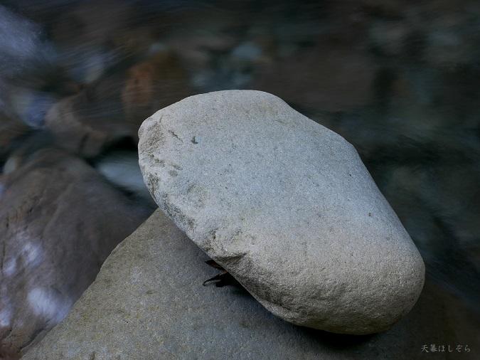 美しい川と石