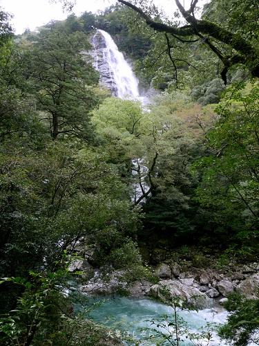 大杉谷の千尋滝