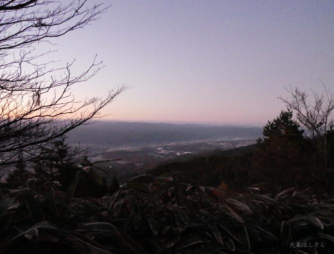 ダイヤモンドトレールから奈良盆地