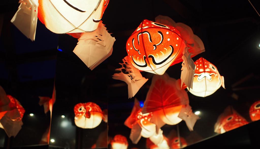 金魚の提灯