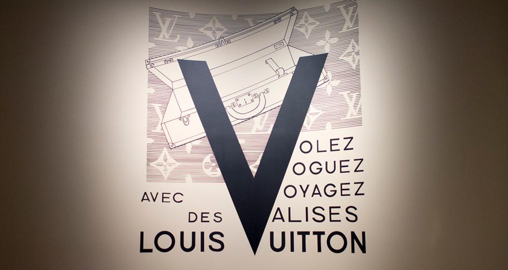 ルイ・ヴィトン展のロゴ