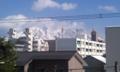 冠雪の桜島