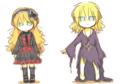 金髪少女(服替え)