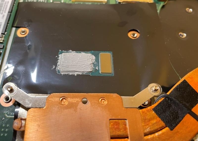 CPU用ダイヤモンドグリス塗布