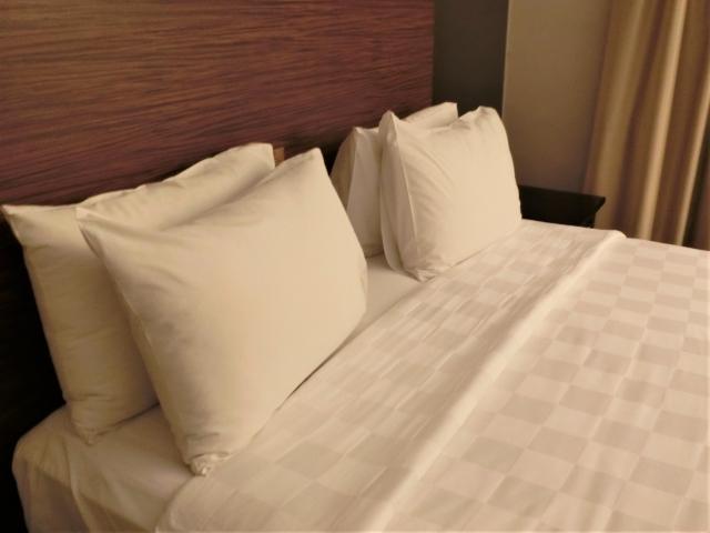 ベッドの写真