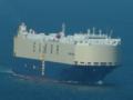関門海峡 車両運搬船