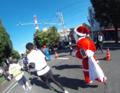サンタクロース 2014青島太平洋マラソン