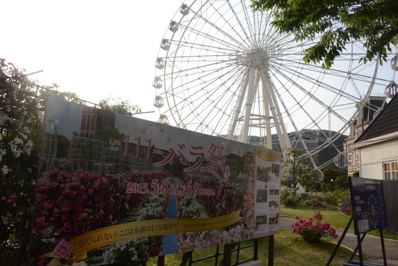ハウステンボス バラ祭り 2015