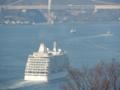 seven seas voyager セブンシーズボイジャー 関門海峡 2016/3/3