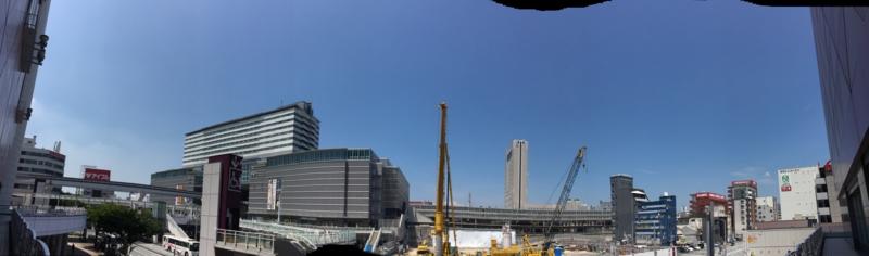小倉駅南口東 再開発 パノラマ