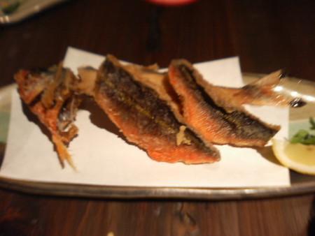 沖縄県魚「グルクン」の唐揚