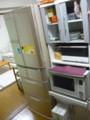 ECO冷蔵庫とヘルシオ