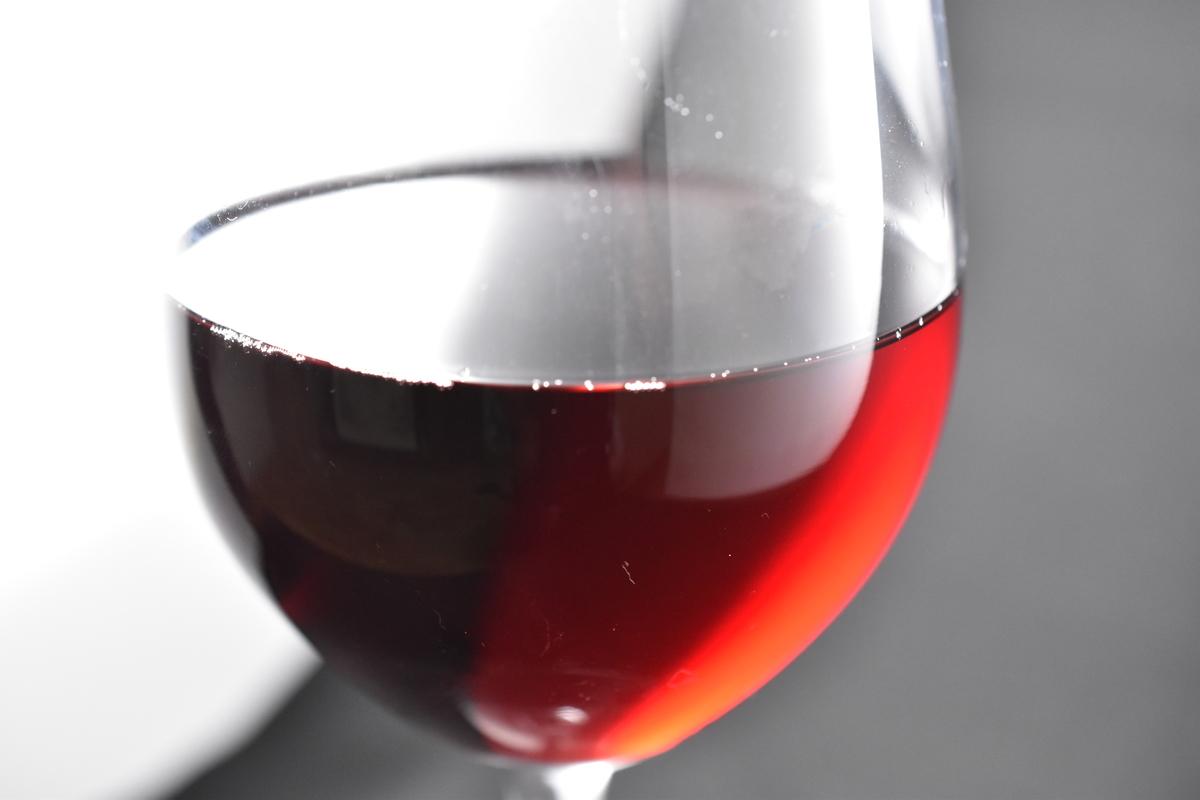 赤ワイン露出補正あり(+2.0EV)