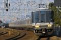 [鉄道][電車][JR西日本][山陽本線][223系]複々線を快走する223系1000番台 須磨〜塩屋間にて
