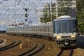 [鉄道][電車][JR西日本][山陽本線][223系]223系1000番台 須磨〜塩屋間にて