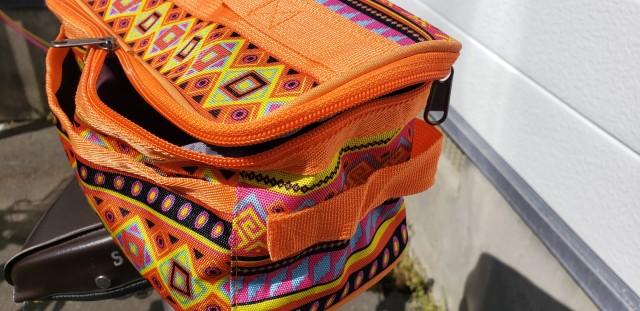 【 誰でも出来る自転車カスタム講座 】フロントバッグは市販のバッグでも付けられる!