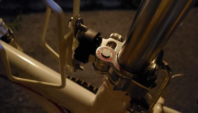ドリンクホルダーが無い自転車の場合