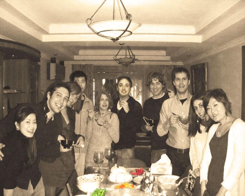 上海で憧れの多国籍ルームシェア仲間